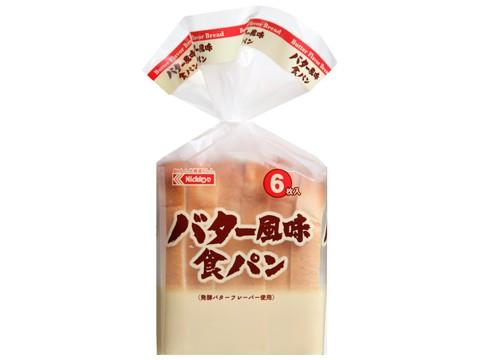 バター風味食パン(6)