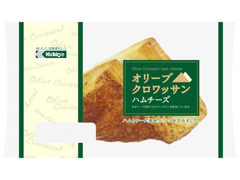 オリーブクロワッサン ハムチーズ