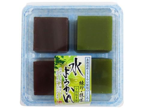水ようかん(練り・抹茶)(4)