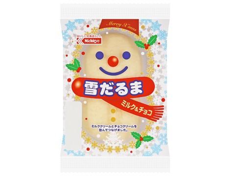 雪だるま(ミルク&チョコ)