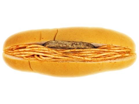 ハンバーグスパゲティロール