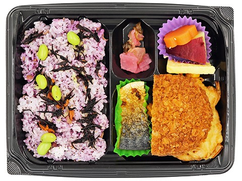 季節のご飯弁当(梅ひじき)