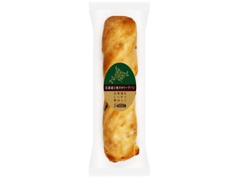 北海道小麦のオリーブパン