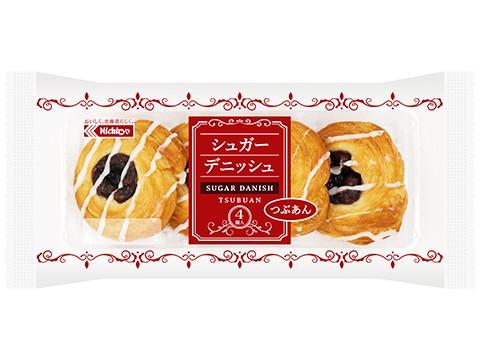 シュガーデニッシュ つぶあん(4)
