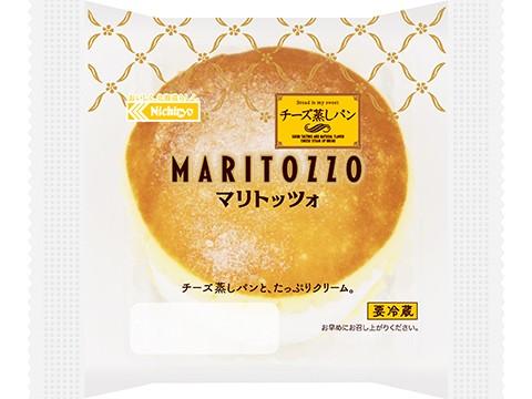 チーズ蒸しパンマリトッツォ